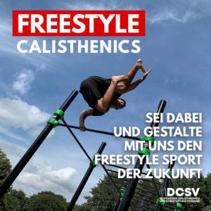 Start der ersten Arbeitsgruppe Freestyle Calisthenics