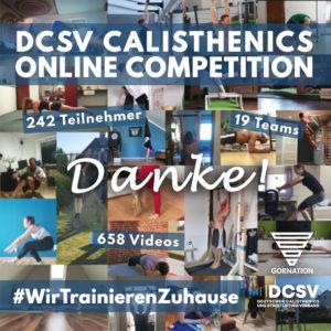 Read more about the article Danke für Euer großes Interesse an der DCOC #WirTrainierenZuhause