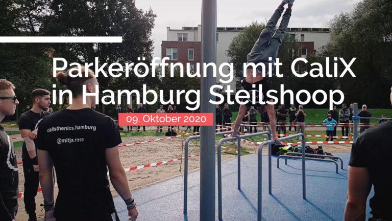 Titelbild zum CaliReport #2 (CaliX Hamburg Parkeröffnung)