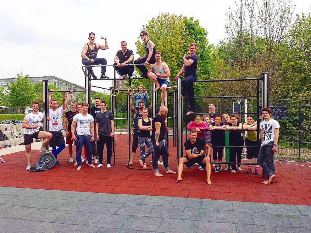 Gruppenbild von EFC Calisthenics aus Erfurt