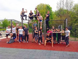 Read more about the article EFC Calisthenics aus Erfurt ist jetzt ordentliches Mitglied