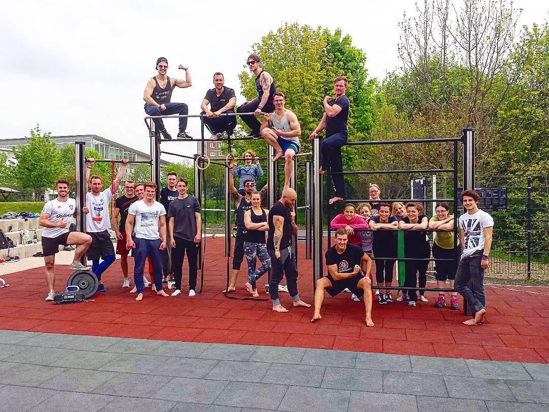 EFC Calisthenics aus Erfurt ist jetzt ordentliches Mitglied