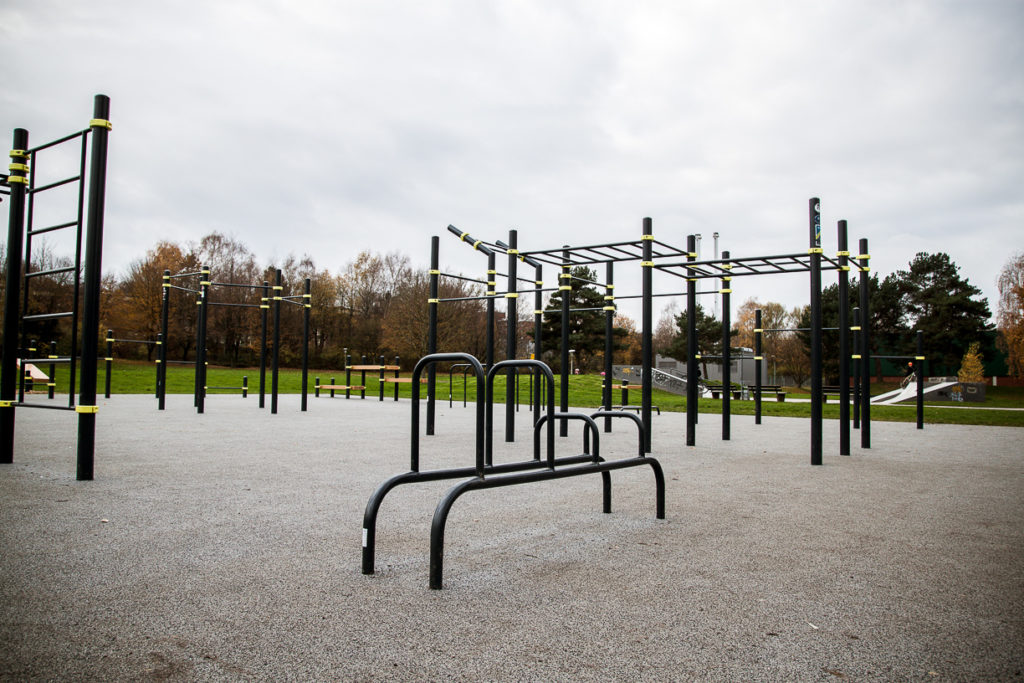 Bild des Calisthenics Parks in Detmold