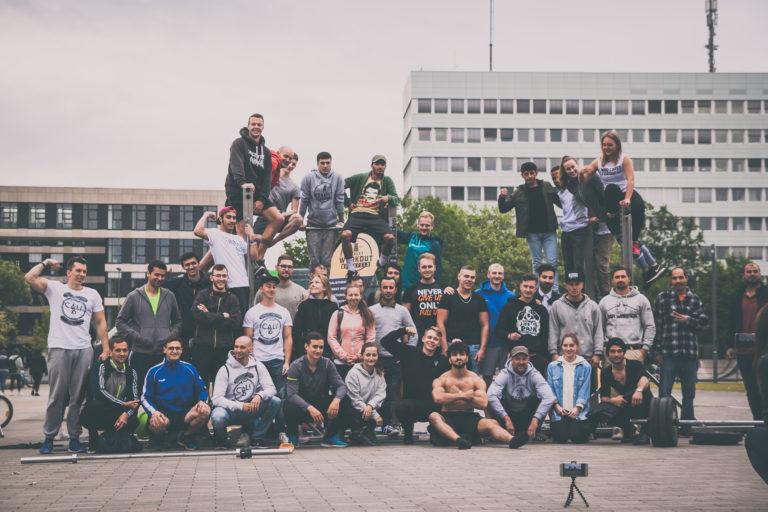 Street Workout Bielefeld Meetup auf dem Kesselbrink