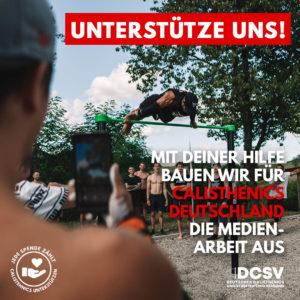Read more about the article Spende für die Entwicklung und den Ausbau der Medienarbeit im DCSV