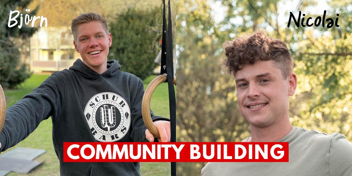 Verstärkung im DCSV im Community Building