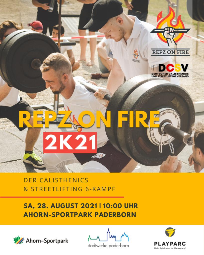 Ausschreibung Repz on Fire 2K21