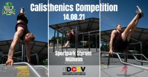 Read more about the article Neues Wettkampfformat: German Calisthenics League (GCL) startet in Mülheim an der Ruhr