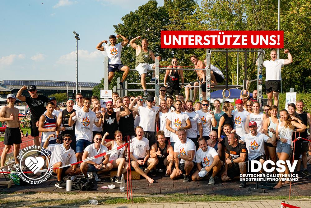 Read more about the article Spendenkampagne: Förderung von Calisthenics in Deutschland – DEINE Hilfe ist gefragt!